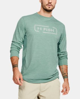 Men's UA Fish Hunter Icon Long Sleeve  1 Color $40