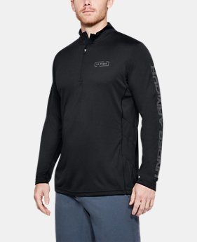 New Arrival Men's UA Fish Hunter Tech ¼ Zip  1 Color $50