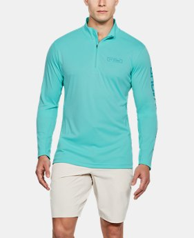 New Arrival Men's UA Fish Hunter Tech ¼ Zip  2 Colors $50