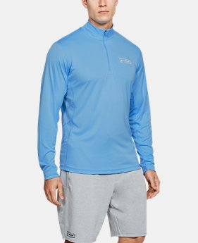 Men's UA Fish Hunter Tech ¼ Zip  1  Color Available $50