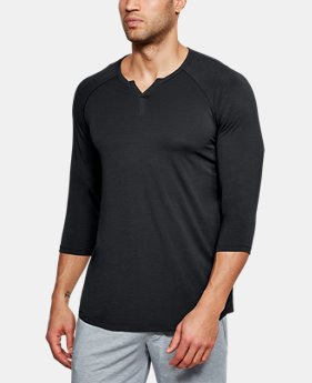 New Arrival Men's Athlete Recovery Sleep Henley  1 Color $60