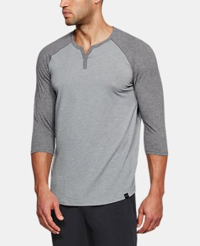 Men's Athlete Recovery Sleepwear Henley  3  Colors Available $60