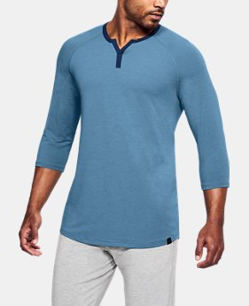 New Arrival Men's Athlete Recovery Sleepwear Henley  1 Color $60