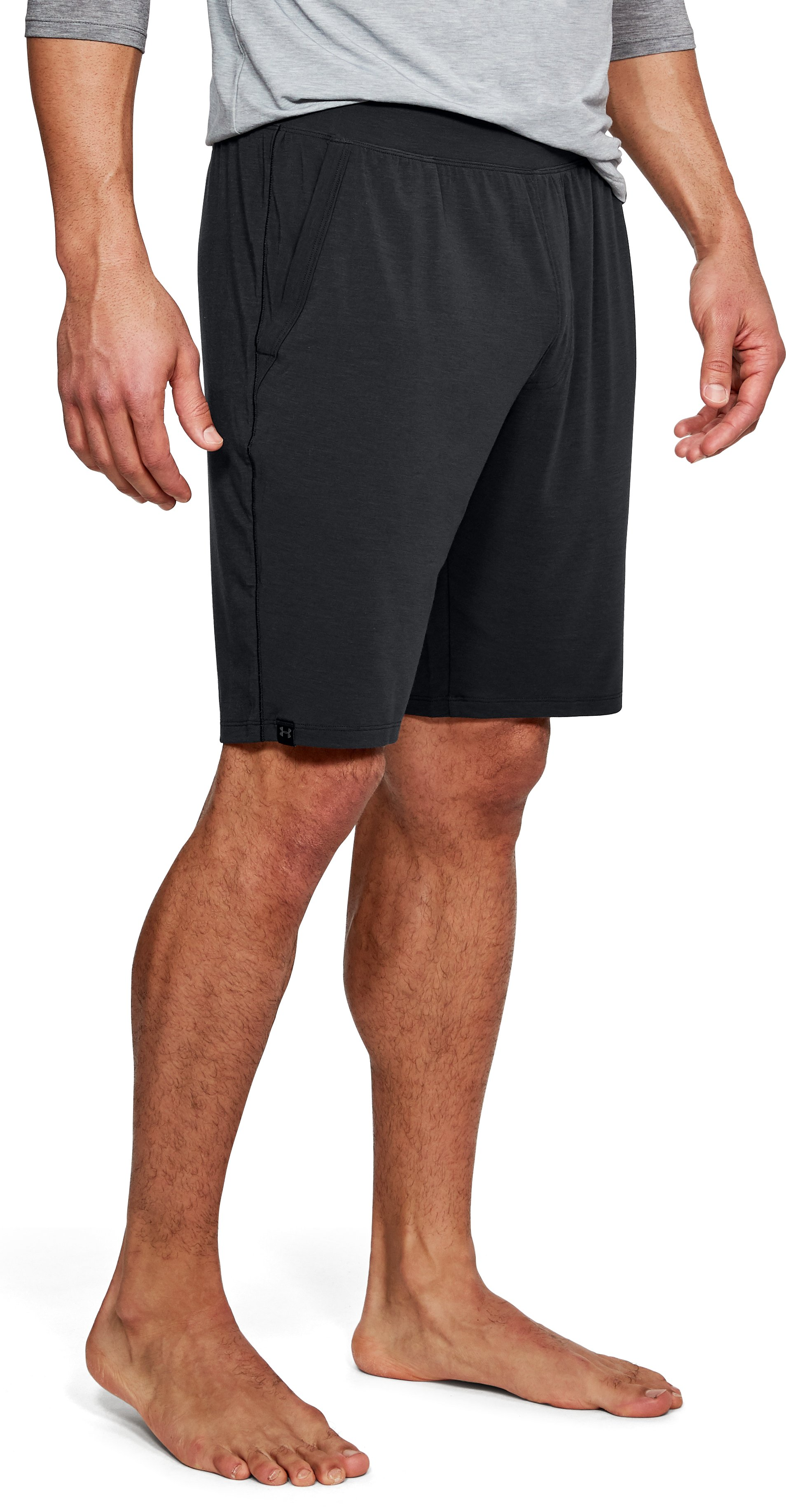 Men's Athlete Recovery Sleepwear Shorts, Black ,