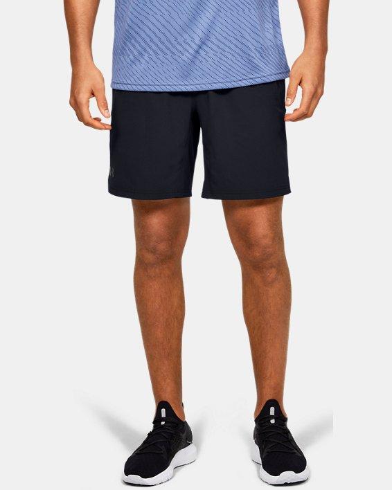 Men's UA Elevated Woven Shorts, Black, pdpMainDesktop image number 0