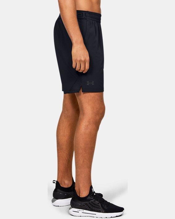 Men's UA Elevated Woven Shorts, Black, pdpMainDesktop image number 3