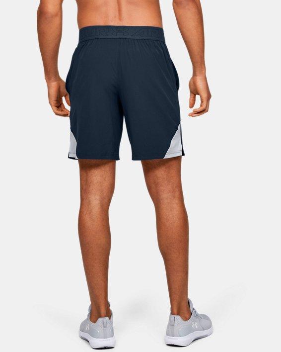 Men's UA Elevated Woven Shorts, Navy, pdpMainDesktop image number 2