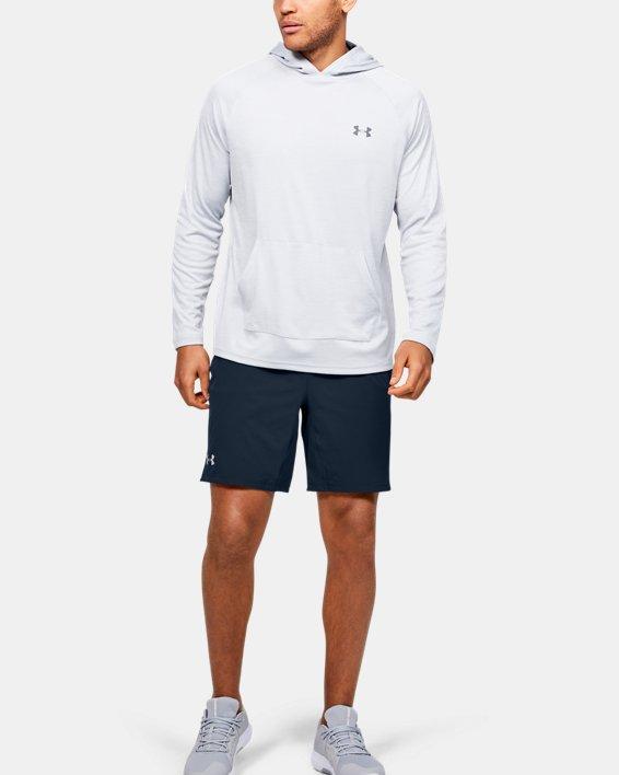Men's UA Elevated Woven Shorts, Navy, pdpMainDesktop image number 1