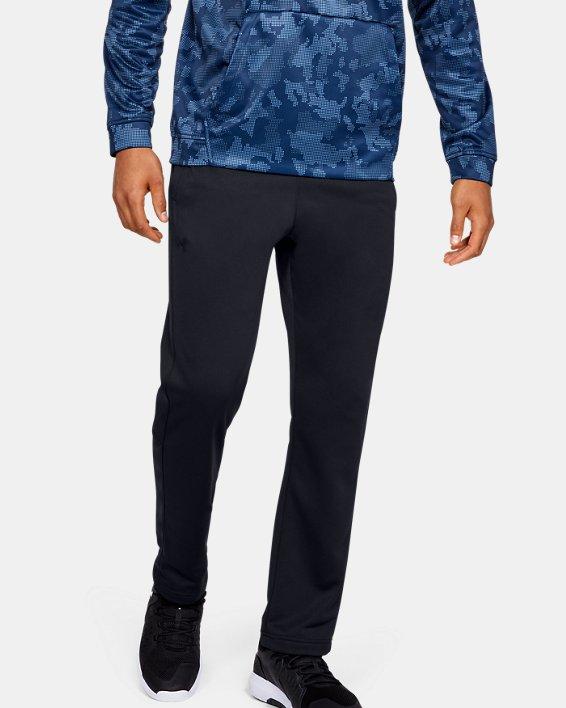 Men's Armour Fleece® Pants, Black, pdpMainDesktop image number 0
