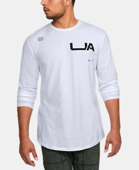 Men's UA TRN DVSN ARMR Long Sleeve  1  Color Available $35