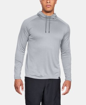 New Arrival Men's UA Lighter Longer Funnel Neck  1  Color Available $45