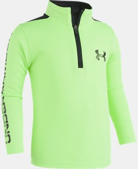 Boys' Pre-School UA Longevity ¼ Zip  1  Color Available $34.99