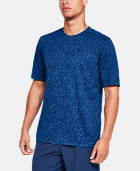 Men's UA Siro Print Short Sleeve  1  Color Available $35