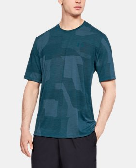 New Arrival Men's UA Siro Print Short Sleeve  1  Color Available $30