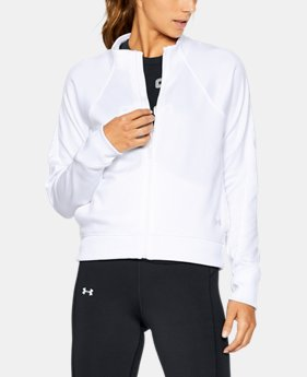 Women's Armour® Fleece Modern Mock Full Zip LIMITED TIME OFFER 1 Color $39.99