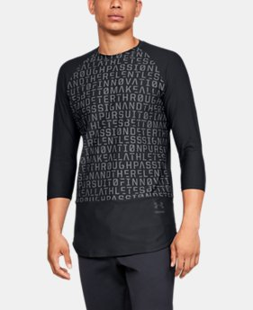 New Arrival Men's UA Perpetual ¾ Sleeve  2  Colors Available $90