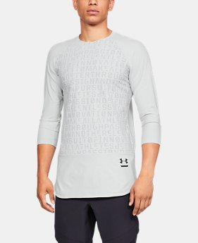 New Arrival Men's UA Perpetual ¾ Sleeve  1  Color Available $90