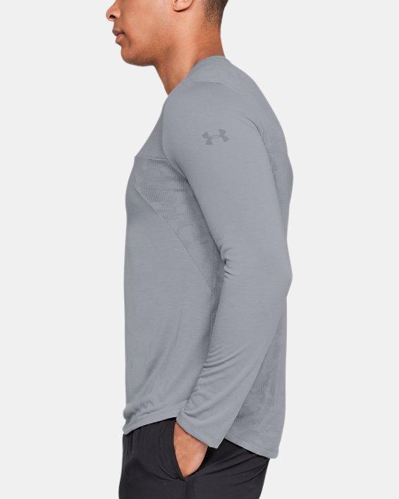 Men's UA Siro Elite Long Sleeve, Gray, pdpMainDesktop image number 3