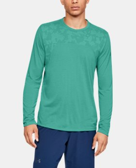 New Arrival  Men's UA Siro Elite Long Sleeve  2  Colors Available $55