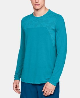 Men's UA Siro Elite Long Sleeve  1  Color Available $30.99