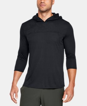 Men's UA Siro Elite ¾ Sleeve Hoodie  1  Color Available $45