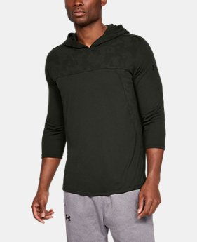 Men's UA Siro Elite ¾ Sleeve Hoodie  1  Color Available $55