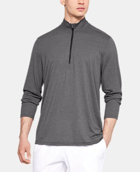 Best Seller Men's UA Siro ½ Zip  7  Colors Available $45