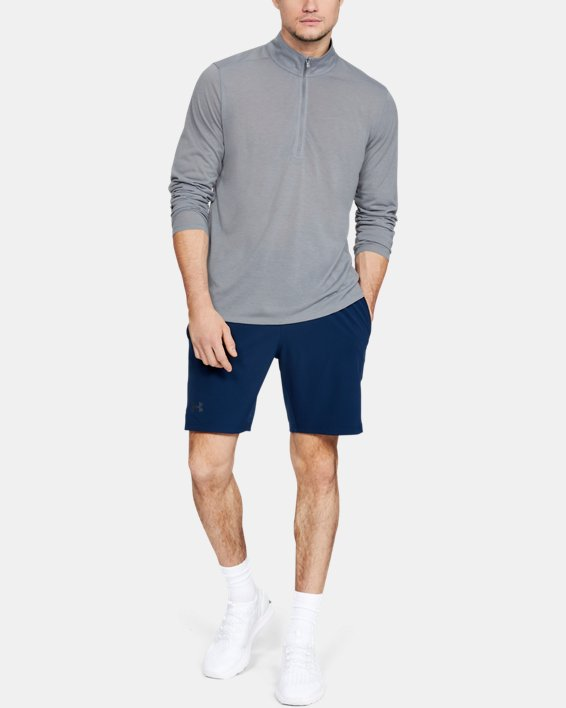 Men's UA Siro ½ Zip, Gray, pdpMainDesktop image number 1