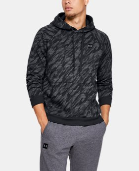 Men's UA Rival Fleece Camo Hoodie  4  Colors Available $50