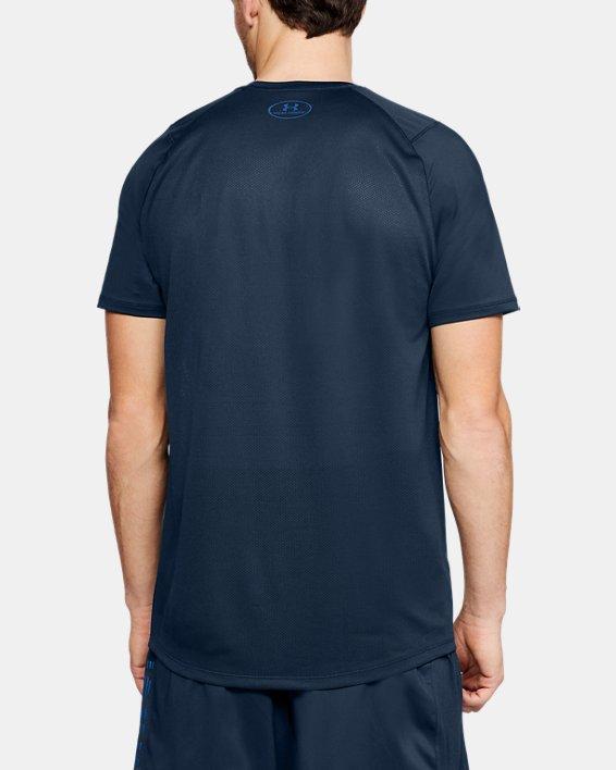 Men's UA MK-1 TRNG DVSN Graphic T-Shirt, Navy, pdpMainDesktop image number 2