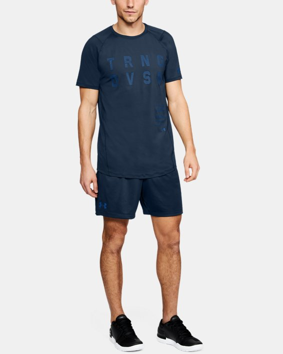 Men's UA MK-1 TRNG DVSN Graphic T-Shirt, Navy, pdpMainDesktop image number 1
