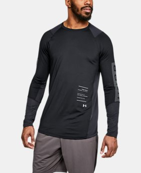 Best Seller Men's UA MK-1 Graphic Long Sleeve Shirt  3  Colors Available $35