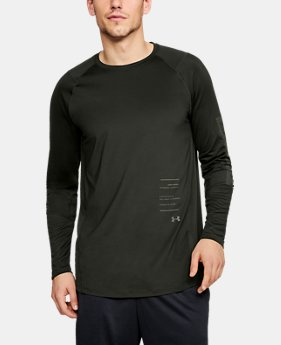 Best Seller Men's UA MK-1 Graphic Long Sleeve Shirt  1  Color Available $35