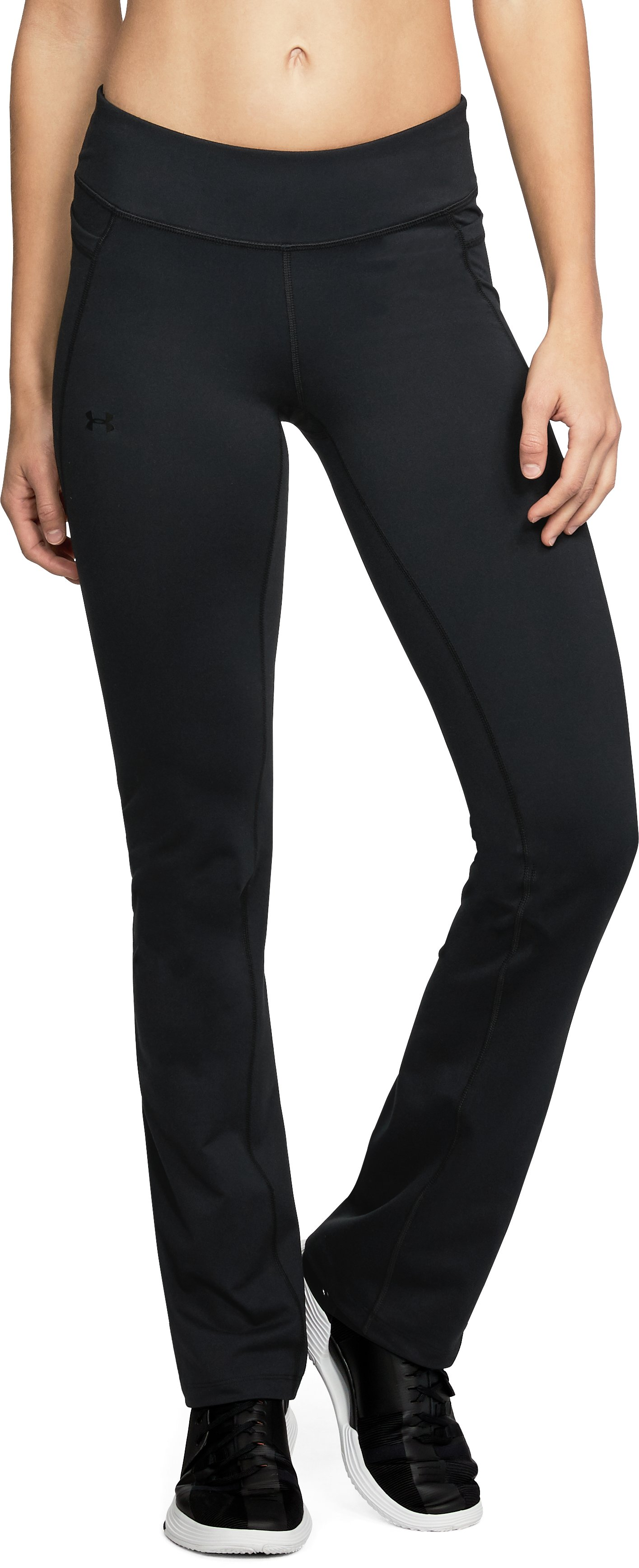 Women's UA All Around Modern Boot Pants, Black , undefined