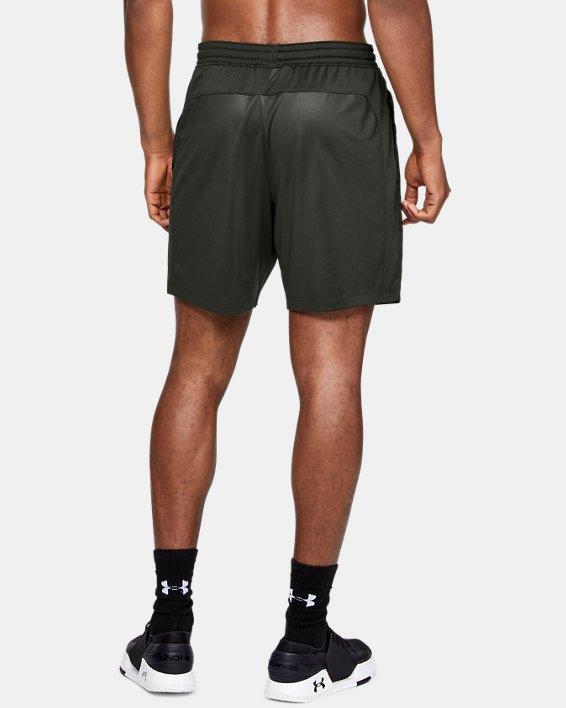 Men's UA MK-1 Camo Print Shorts, Green, pdpMainDesktop image number 2