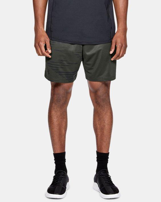 Men's UA MK-1 Camo Print Shorts, Green, pdpMainDesktop image number 0