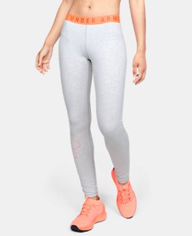 Women's UA Favorite Graphic Logo Leggings  1  Color Available $33.75