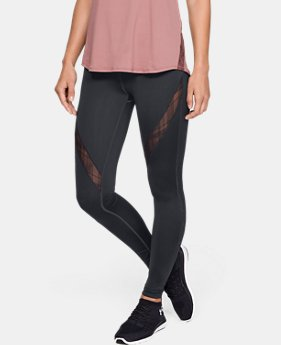 New Arrival Women's UA Misty Embroidered Legging  1  Color Available $150