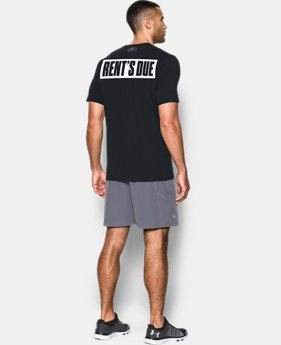 Men's UA x Project Rock Rents Due T-Shirt  1 Color $34.99
