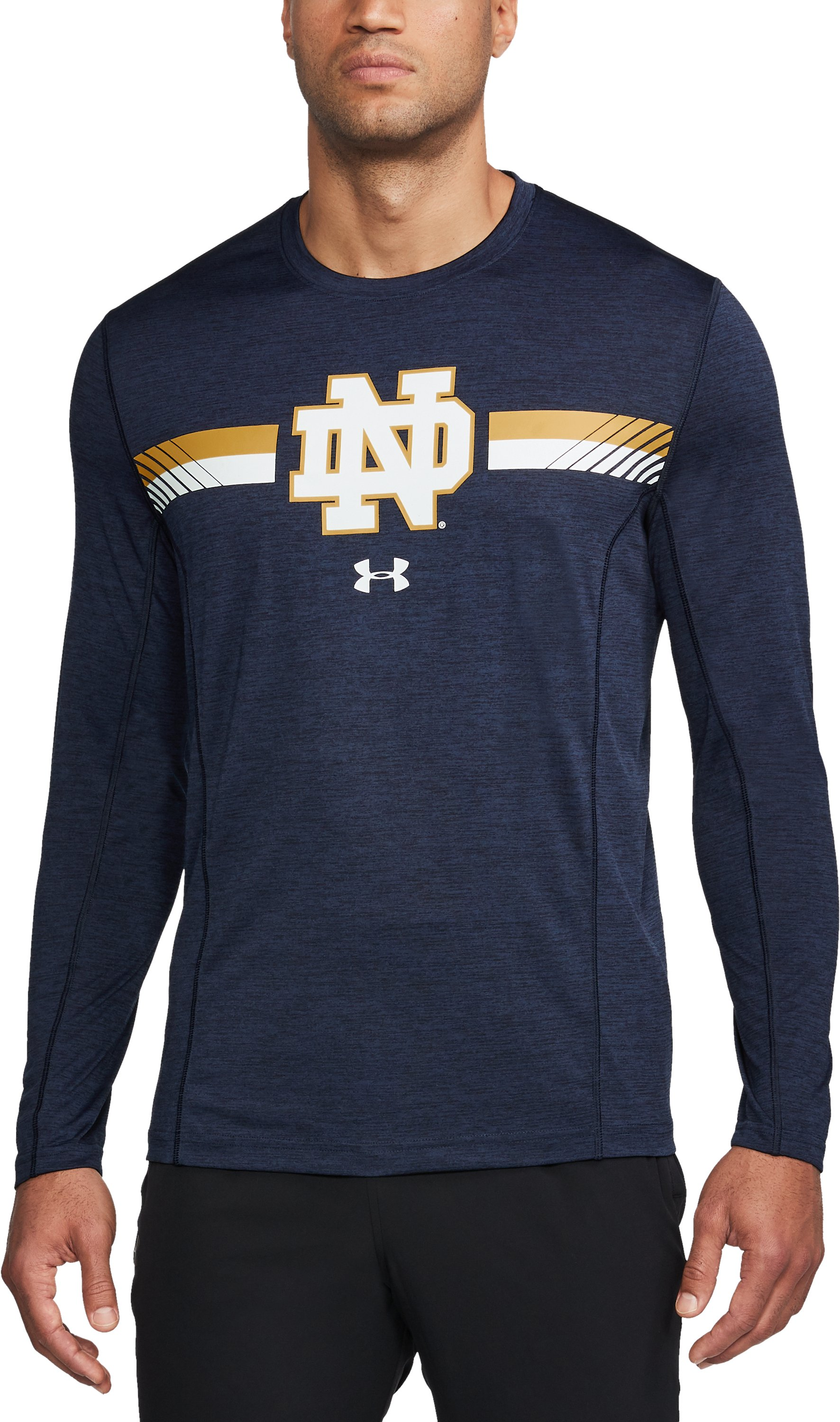 Men's Notre Dame Long Sleeve Training T-Shirt 1 Color $47.99