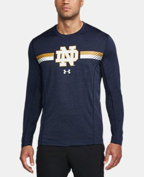 Men's Notre Dame Long Sleeve Training T-Shirt  1  Color Available $47.99