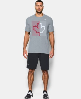 Men's UA Canada Leaf T-Shirt   1  Color Available $29.99