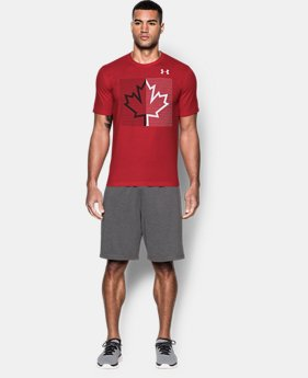 Men's UA Canada Leaf T-Shirt  LIMITED TIME: FREE SHIPPING 1  Color Available $29.99