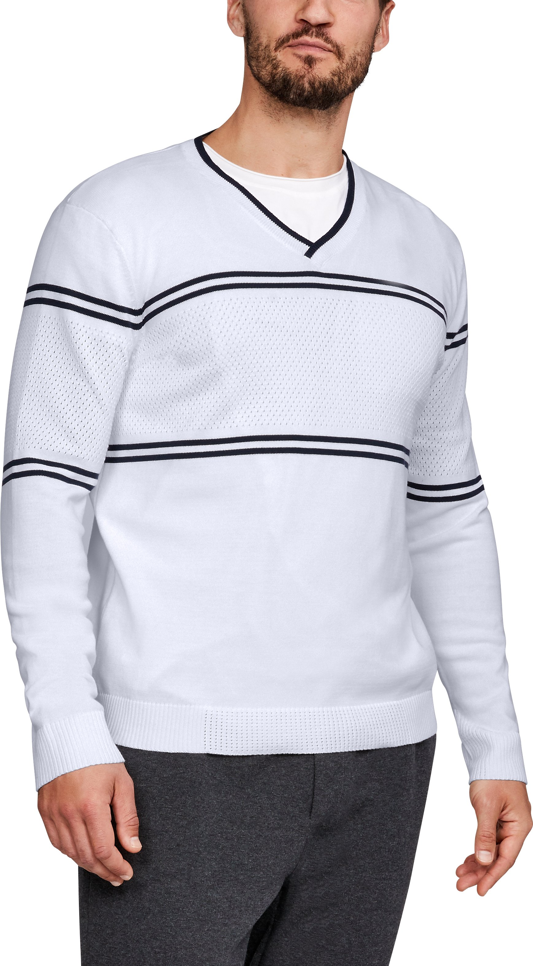 Men's UA Sportswear V-Neck Sweater  1 Color $100.00