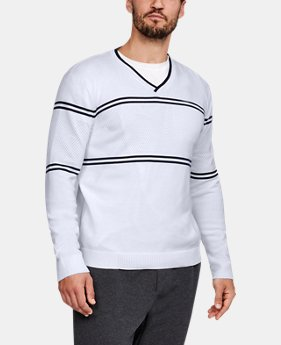Men's UA Sportswear V-Neck Sweater   1  Color Available $100