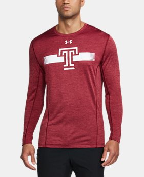 Men's Temple Long Sleeve Training T-Shirt  1 Color $47.99