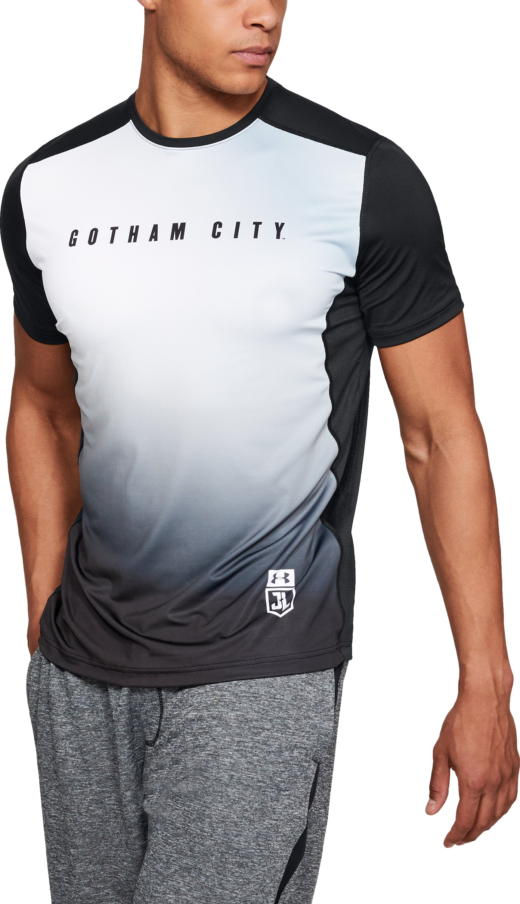 Men's Under Armour® Alter Ego Gotham City Raid Shortsleeve, Black , undefined