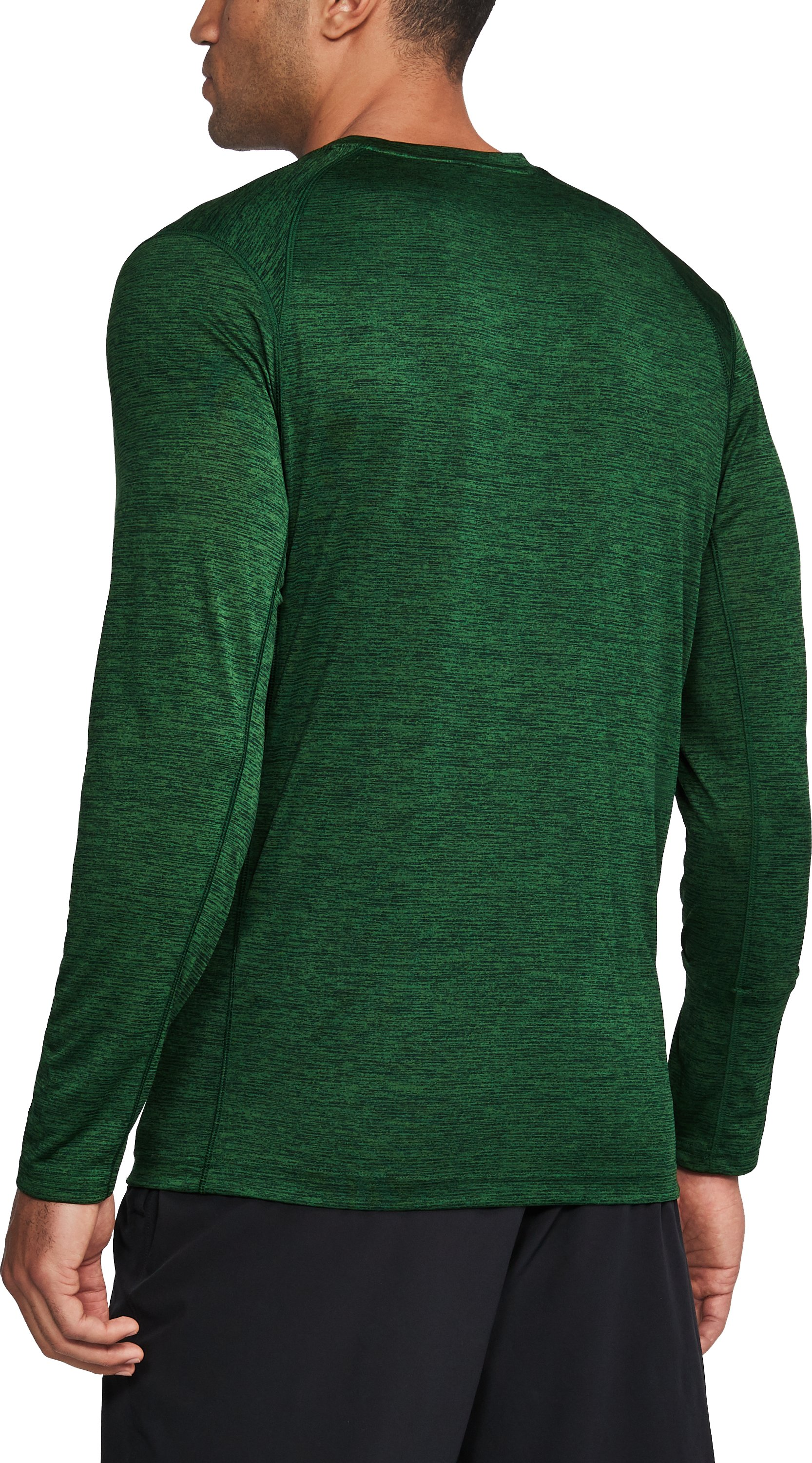 Men's South Florida Long Sleeve Training T-Shirt, Forest Green,