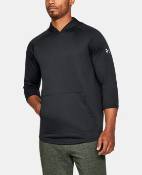 Men's UA Tech™ ¾ Sleeve Hoodie  1 Color $26.25