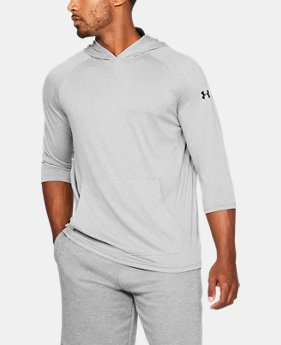 New Arrival Men's UA Tech™ ¾ Sleeve Hoodie  4 Colors $35